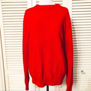 Van Cort | 🌺Vintage Red Diamond Sweater